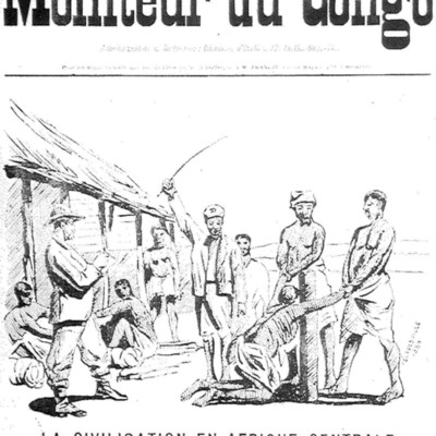 La civilisation en Afrique centrale : la Chicotte