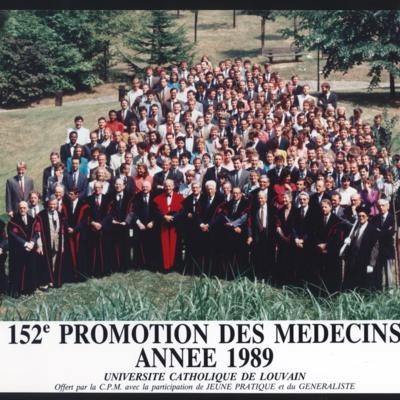 Promotion de Médecine en 1988-1989