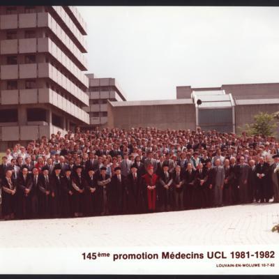 Promotion de Médecine en 1981-1982