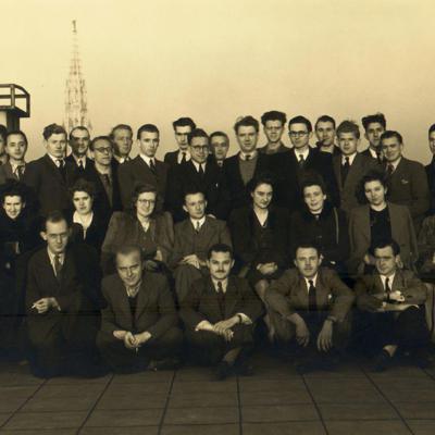 Promotion de Médecine en 1945-1946