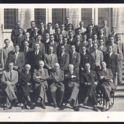 Promotion de Médecine en 1944-1945