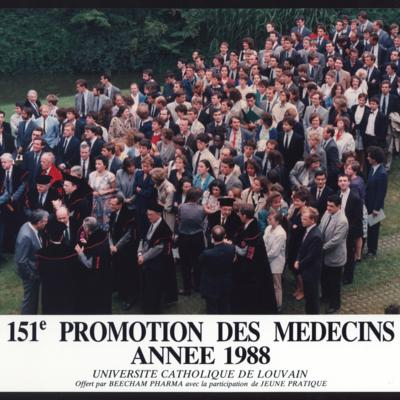 Promotion de Médecine en 1987-1988