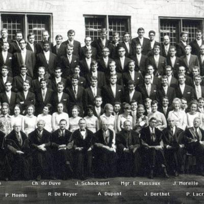 Promotion de Médecine en 1969-1970