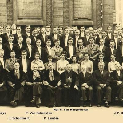 Promotion de Médecine en 1954-1955