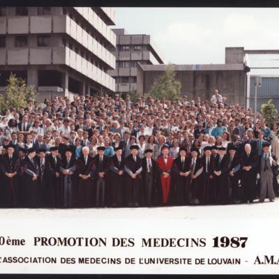 Promotion de Médecine en 1986-1987