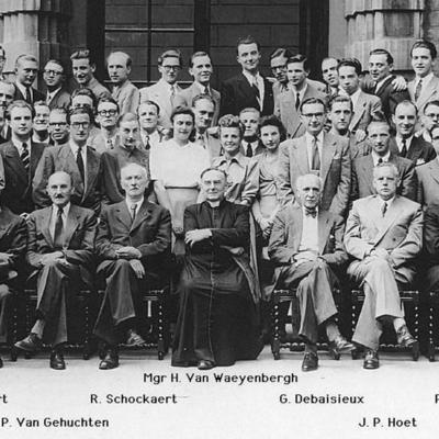 Promotion de Médecine en 1948-1949