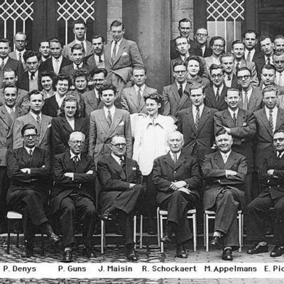 Promotion de Médecine en 1949-1950