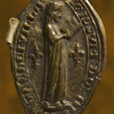 Sceau d'Isabelle, dame de Tachainville