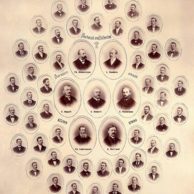 Promotion de Médecine en 1899-1900