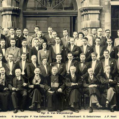 Promotion de Médecine en 1950-1951