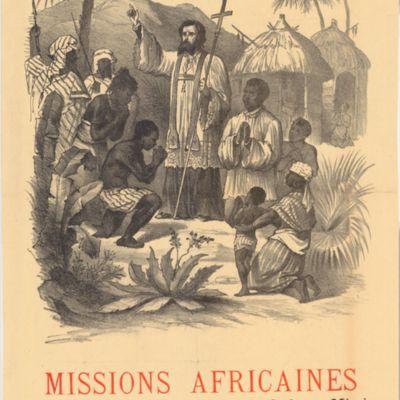 Afrikaanse missies, conferentie, 28 novembre 1887 : aankondiging van de conferentie door Victor Van Tricht (Missions africaines, conférence, 28 novembre 1887 : annonce de la conférence de Victor Van Tricht)