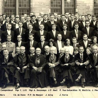 Promotion de Médecine en 1962-1963