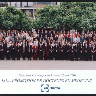 Promotion de Médecine en 2003-2004