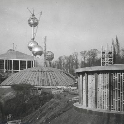 Le pavillon de la Faune dans la section du Congo Belge et du Ruanda-Urundi