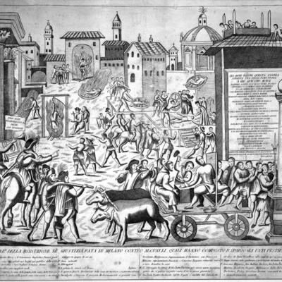 Peste Milan 1630 torture de personnes portant la peste 2.jpg