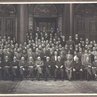 Promotion de Médecine en 1933-1934