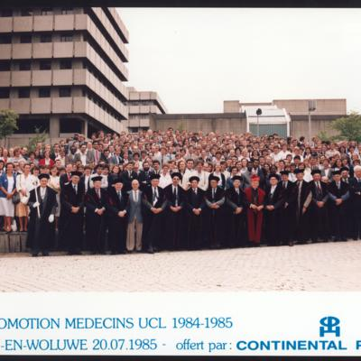 Promotion de Médecine en 1984-1985