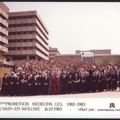 Promotion de Médecine en 1982-1983