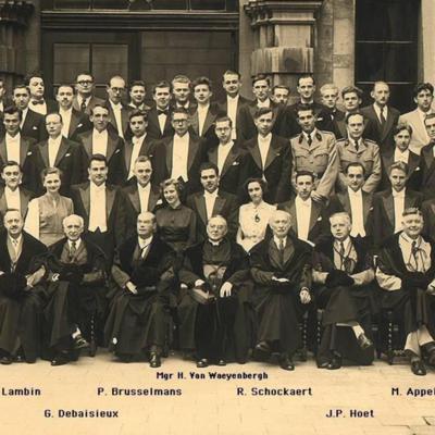 Promotion de Médecine en 1952-1953