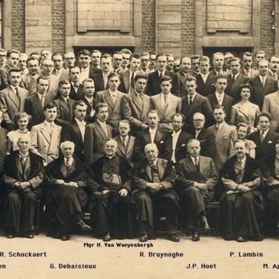 Promotion de Médecine en 1951-1952