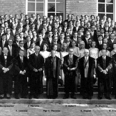 Promotion de Médecine en 1968-1969